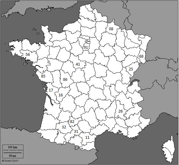 Carte france meteorite 3